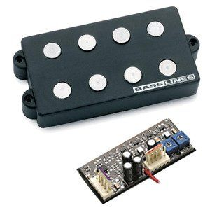 Seymour Duncan SMB-4DS 4-String Ceramic Magnet Pickup & 3-Band Tone Circuits For Music Man