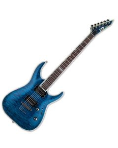 ESP LTD Deluxe MH-1000NT Duncan Blue Electric Guitar LMH1000NTDB