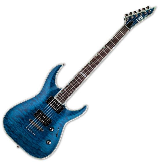 ESP LTD Deluxe MH-1000NT Duncan Blue Electric Guitar