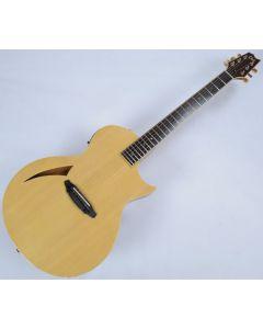 ESP LTD TL-6 Steel String Demo Acoustic Electric Guitar in Natural with Case LTL6NAT.B