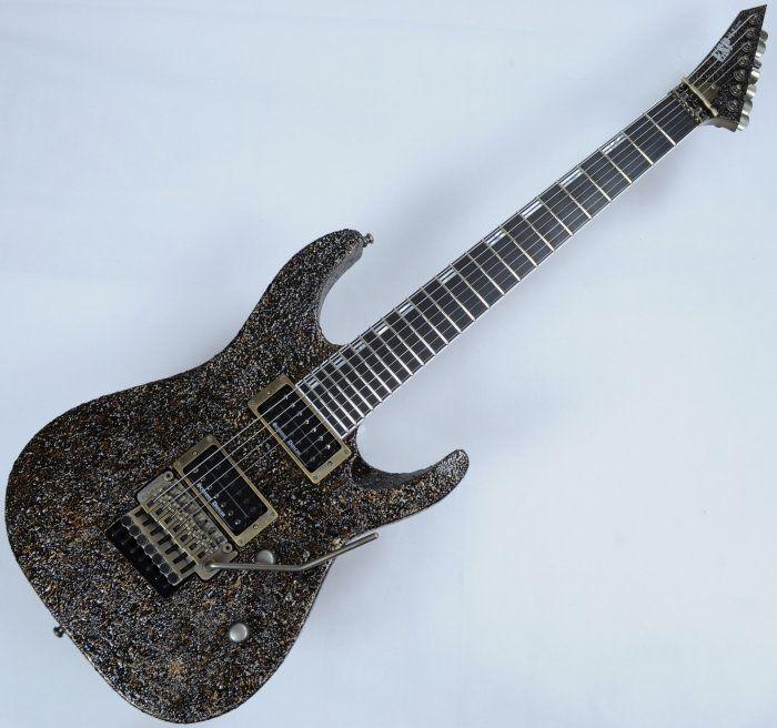 Esp 7 String >> Esp M Ii 7 String Exhibition Japan Custom Shop Guitar In Rusty Iron