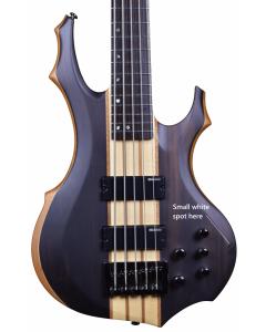 ESP LTD F-5E Electric Bass in Natural Satin B-Stock