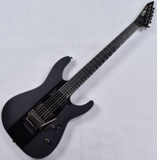 ESP LTD Deluxe M-1000 Electric Guitar Black Stripe Front