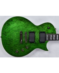 ESP LTD Deluxe EC-1000 Electric Guitar in Swirl Green Finish