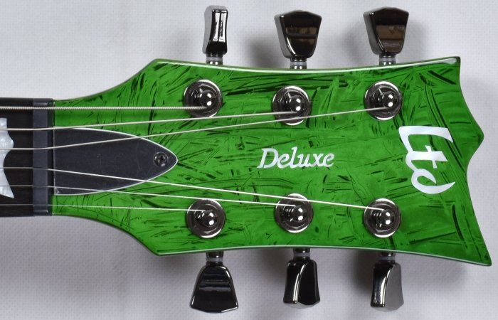 esp ltd deluxe ec 1000 electric guitar in swirl green finish ec 1000. Black Bedroom Furniture Sets. Home Design Ideas