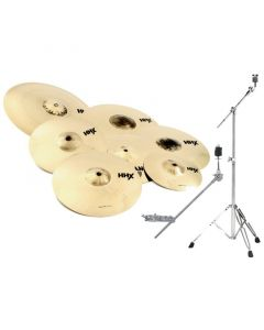 "Sabian HHX Super Set Cymbal Pack  w/free 10"" and 18"" - 15007XBS 15007XBS"