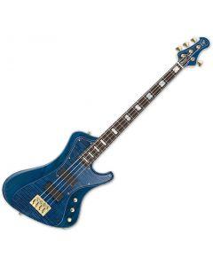 ESP Stream CTM Electric Bass in Marine Blue ESTREAMCTMMARBL