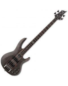 ESP LTD B-204SM Electric Bass in See Thru Black Satin LB204SMSTBLKS