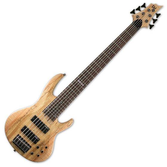 ESP LTD B-206SM Bass in Natural Stain