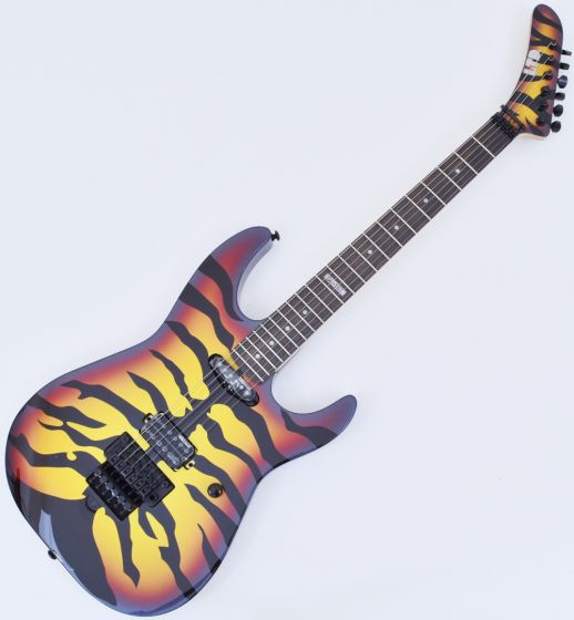 ESP LTD GL-200SBT George Lynch Electric Guitar in Sunburst Tiger B-Stock