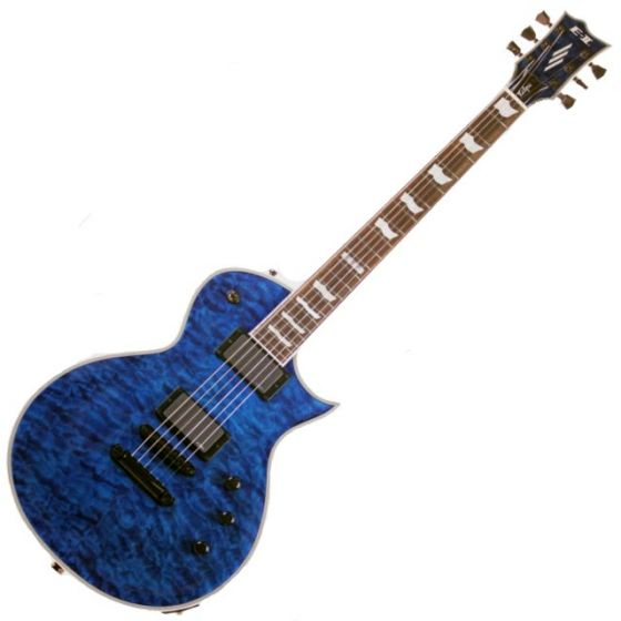 ESP E-II Eclipse QM MARBL Quilted Maple Electric Guitar