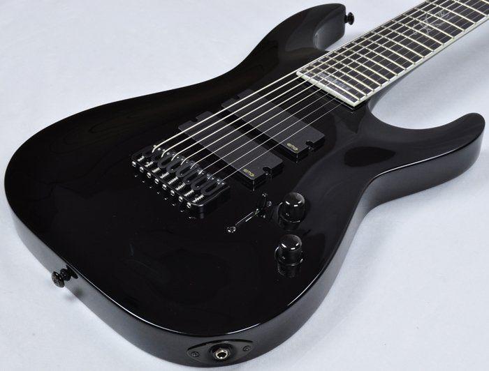esp ltd sc 608b stephen carpenter 8 strings electric guitar brand new. Black Bedroom Furniture Sets. Home Design Ideas