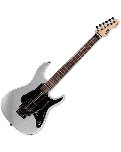 ESP LTD SN-200FR Electric Guitar in Metallic Silver LSN200FRRMS