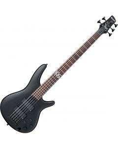 Ibanez Fieldy Signature K5 5 String Electric Bass Black Flat K5BKF