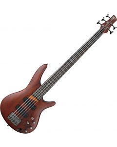 Ibanez SR Standard SR505 5 String Electric Bass Brown Mahogany SR505BM