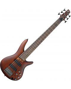 Ibanez SR Standard SR506 6 String Electric Guitar Brown Mahogany SR506BM