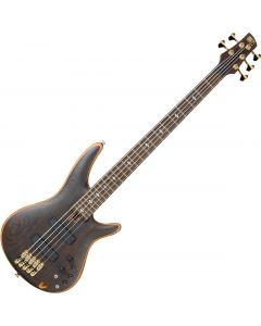 Ibanez SR Prestige SR5005 5 String Electric Bass Oil SR5005OL