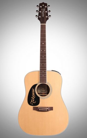 Takamine EF360GF Glenn Frey Signature Left-Handed Acoustic Guitar in Natural