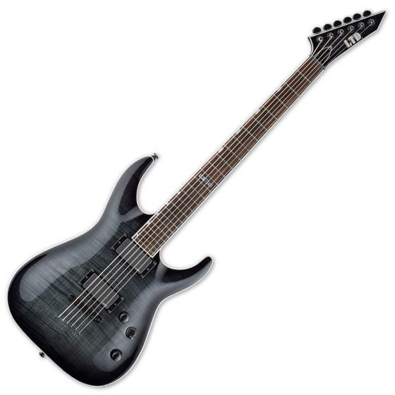 ESP LTD MH-401B FM Guitar in See-Thru Black Sunburst