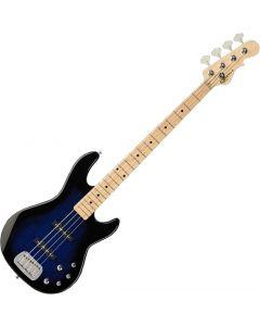 G&L Tribute MJ-4 Electric Bass in Blue Burst Finish TI-MJ4-BLB-MP