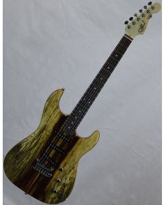 G&L USA S-500 RMC Spalted Tamarind Top Chechen Fretboard Electric Guitar Natural Gloss USA S500RMC.NAT 9650