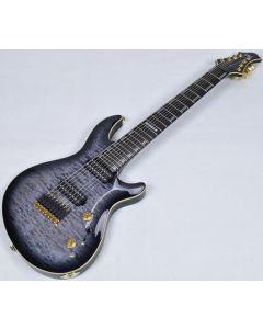 ESP JR-608 QM 2015 Javier Reyes Signature Electric Guitar in Faded LJR608QMFBSB