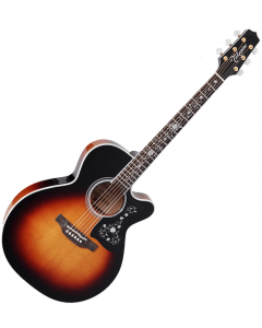 Takamine EF450C-TT NEX Acoustic Guitar Brown Sunburst TAKEF450CTTBSB