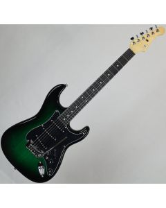 G&L USA S-500 Ebony Fingerboard Electric Guitar Greenburst USA S500-GBT-EB 7833