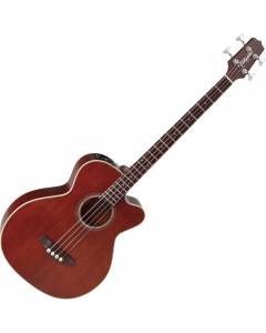 Takamine PB5 Acoustic Electric Bass Gloss Aged Natural Stain TAKPB5ANS