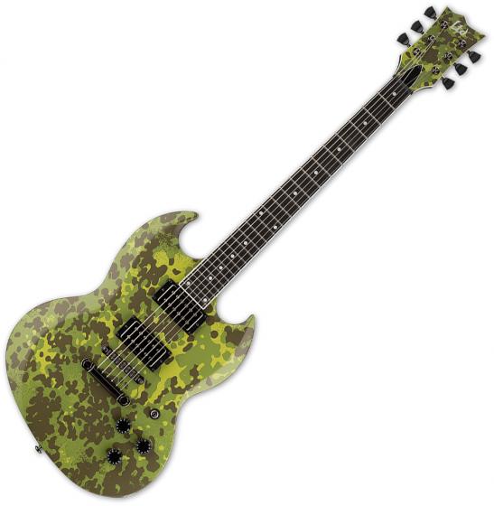 ESP LTD Lars Frederiksen Volsung Signature Electric Guitar Danish Camo Satin