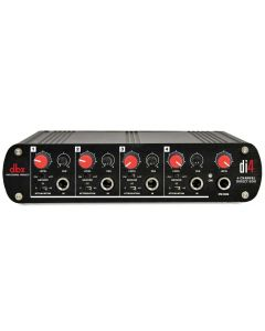 dbx DI4 Active 4 Channel Direct Box with Line Mixer DBXDI4