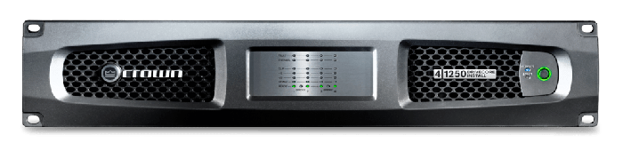 Crown Audio DCi 4|1250 Drivecore Install Analog Power Amplifier