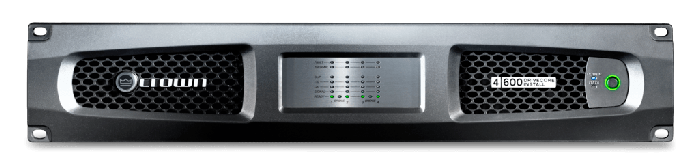 Crown Audio DCi 4|600 Drivecore Install Analog Power Amplifier