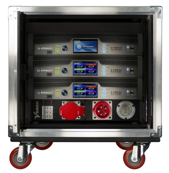 Crown Audio Vrack 4x3500HD Empty Amplifier Rack