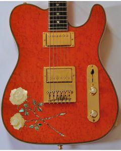 ESP USA Custom Rose Tele Electric Guitar