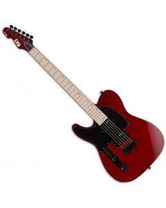 ESP LTD TE-200 Left-Handed Electric Guitar See Thru Black Cherry LTE200MSTBCLH
