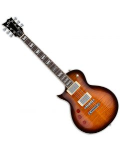 ESP LTD EC-256FM Left-Handed Electric Guitar Dark Brown Sunburst LEC256DBSBLH