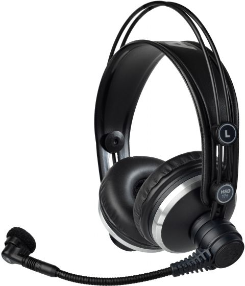AKG HSD171 Professional Headsets with Dynamic Microphone