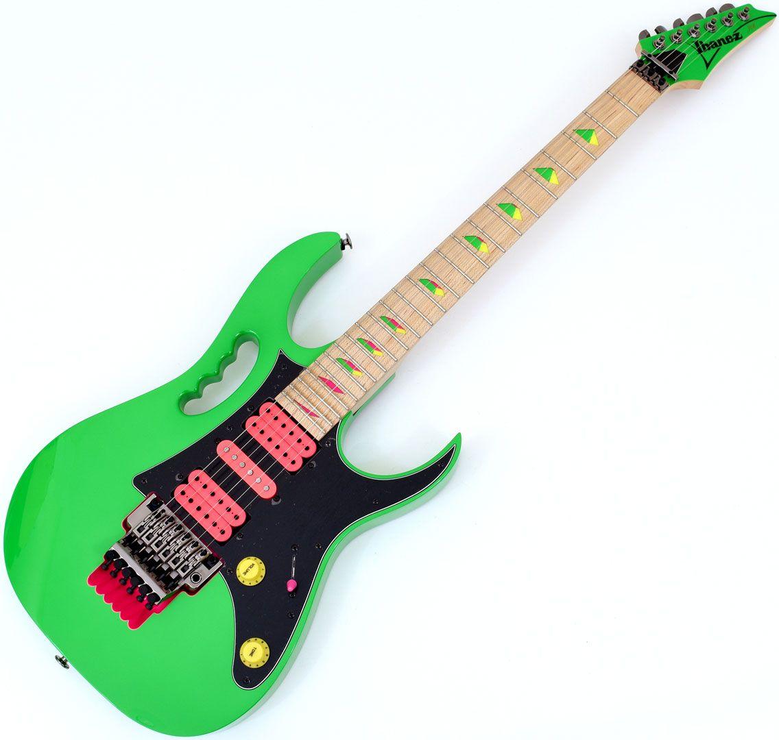 ibanez steve vai signature jem777 electric guitar loch ness green je. Black Bedroom Furniture Sets. Home Design Ideas