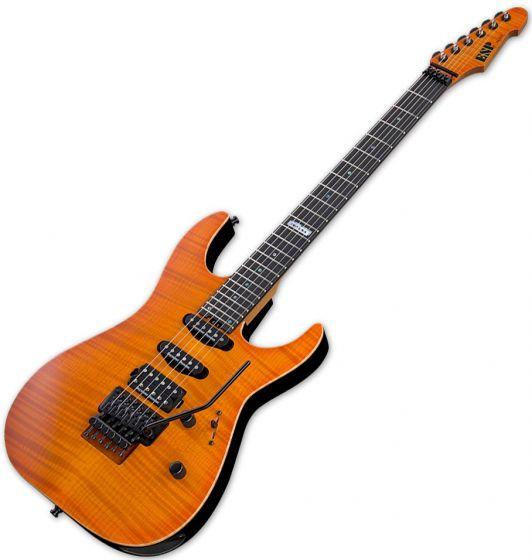 ESP USA M-III Electric Guitar in Copper Sunburst