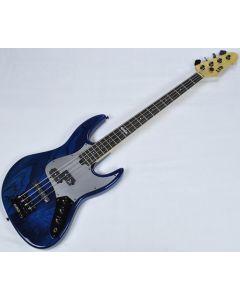 ESP LTD PT-4 Pancho Tomaselli Electric Bass in Black Aqua LPT4BLKAQ