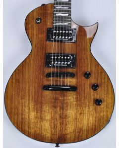 ESP LTD Deluxe EC-1000 KOA Top Guitar in Natural