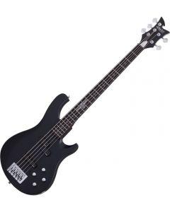 Schecter Johnny Christ-5 Bass Signature 5-String Electric Bass Satin Black SCHECTER278