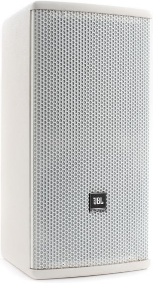 "JBL AC18/26 Compact 2-Way Loudspeaker with 1 x 8"" LF White"