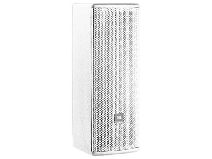 """JBL AC28/26 Compact 2-Way Loudspeaker with 2 x 8"""" LF White"""
