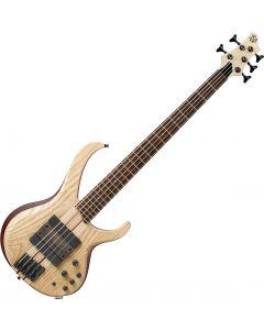 Ibanez Bass Workshop BTB33 5 String Electric Bass Natural Flat BTB33NTF