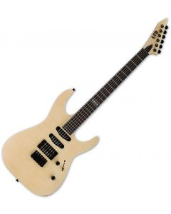 ESP LTD M-403HT Flamed Maple Top Electric Guitar Natural Satin LM403HTFMNS
