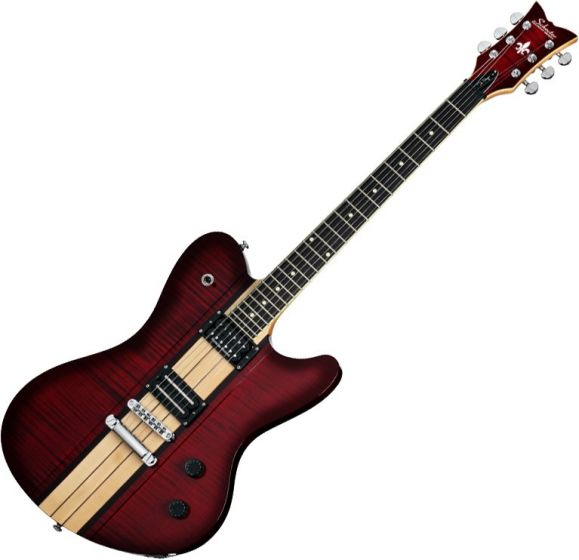 Schecter Signature Dan Donegan Ultra Electric Guitar in Black Cherry