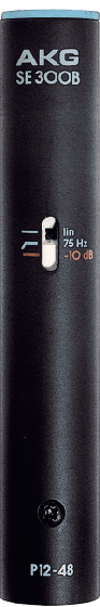 AKG SE300 B High Performance Microphone Pre-Amplifier