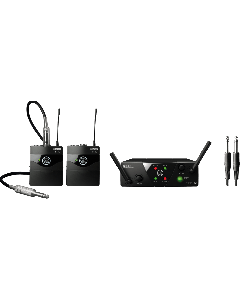 AKG WMS40 Mini Dual Instrumental Set Wireless Microphone System - Band A & B B-Stock 3351H00020.B